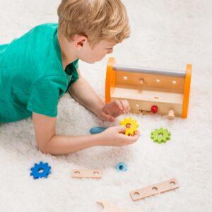 Дърводелски детски комплект - Детски играчки - Образователни играчки - Дървени играчки