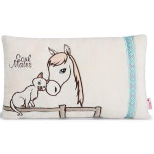 Декоративна възглавничка с Животни - За бебето - Аксесоари за детска стая - Възглавници за спане и кърмене