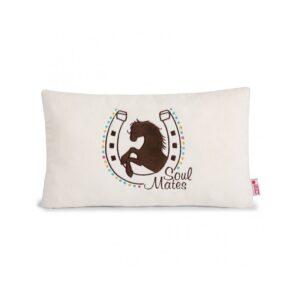 Декоративна възглавница с Конче - За бебето - Аксесоари за детска стая - Възглавници за спане и кърмене