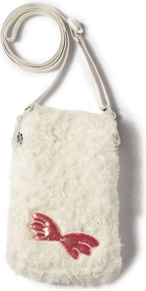 Детска чантичка за моб. тел. овцата Jolly - бяла - Детски играчки - Плюшени играчки