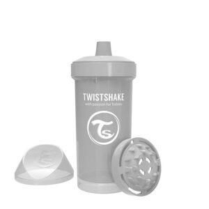 Детска чаша с шейкър Twistshake 360 мл 12+ месеца сива - За бебето - Хранене - Детски и бебешки чаши