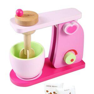 Детска дървена играчка - Миксер - Детски играчки - Кухни за игра - комплекти и консумативи - Дървени играчки