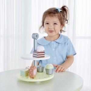 Детска дървена поставка за сладкиши - Детски играчки - Дървени играчки