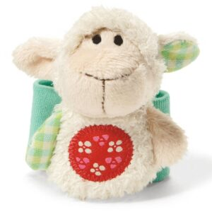 Детска гривна за ръка - Агънце - Детски играчки - Плюшени играчки