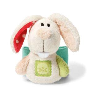 Детска гривна за ръка - плюшено Зайче - Детски играчки - Плюшени играчки