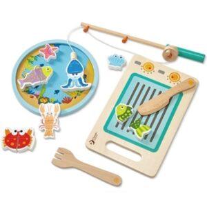 Детска игра налови и сготви риба - Детски играчки - Кухни за игра - комплекти и консумативи - Дървени играчки
