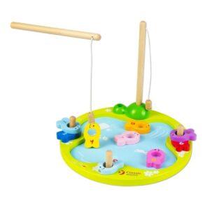 Детска игра риболов с магнити - Детски играчки - Бебешки играчки - Дървени играчки