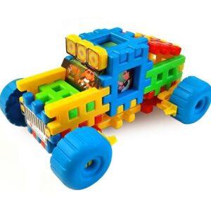 Детска играчка - джип - Детски играчки - Конструктори
