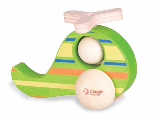 Детска играчка - хеликоптер - Детски играчки - Бебешки играчки - Дървени играчки