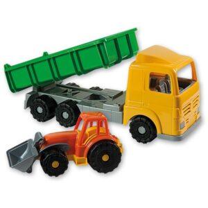 Детска играчка - камион с каросерия, Unico - Детски играчки - Детски камиончета и коли