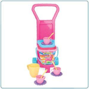 Детска играчка - комплект за пикник, розова - Детски играчки - Други занимателни и спортни играчки