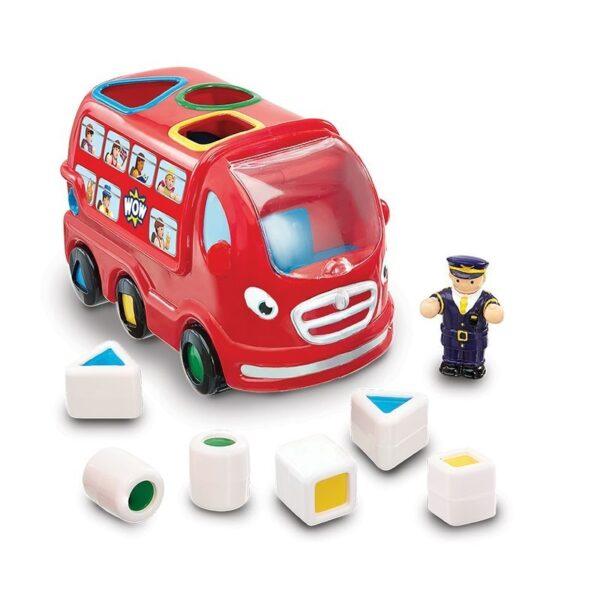 Детска играчка - Лондонски автобус ЛЕО - Детски играчки - Детски камиончета и коли