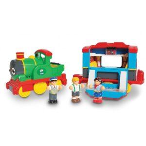Детска играчка - Парният локомотив на Сам - Детски играчки - Други занимателни и спортни играчки
