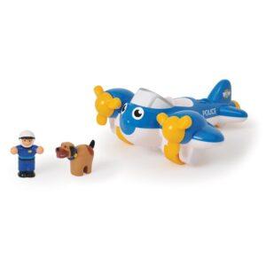 Детска играчка - Полицейски самолет Пийт - Детски играчки - Детски камиончета и коли