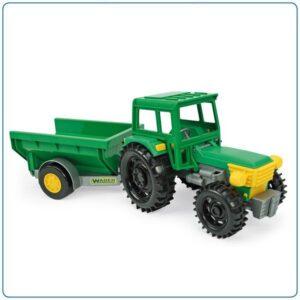 Детска играчка трактор с ремарке - Детски играчки - Детски камиончета и коли