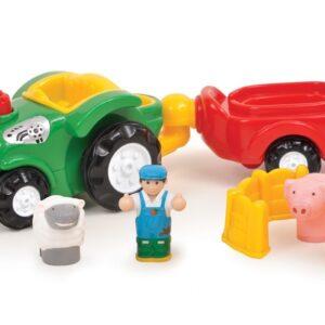 Детска играчка - трактора на Бърни - Детски играчки - Детски камиончета и коли