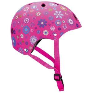 Детска каска за колело и тротинетка, 51-54 см - Розова - Играчки за навън - Протектори - каски, налакътници, наколенки