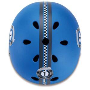 Детска каска за колело и тротинетка, 51-54 см - Синя - Играчки за навън - Протектори - каски, налакътници, наколенки