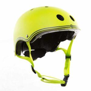 Детска каска за колело и тротинетка, 51-54 см, зелена - Тротинетки - Играчки за навън - Протектори - каски, налакътници, наколенки