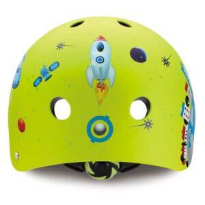 Детска каска за колело и тротинетка, Зелена - Играчки за навън - Протектори - каски, налакътници, наколенки