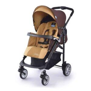 Детска количка, комбинирана Zooper Waltz Khaki Plaid кафяво и бежово - Бебешки колички - Комбинирани бебешки колички 2 в 1