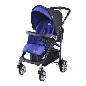 Детска количка, комбинирана Zooper Waltz Royal Blue Plaid, кралско синьо и черно - Бебешки колички - Комбинирани бебешки колички 2 в 1