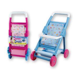 Детска количка за кукли - различни цветове, Unico - Детски играчки - Други занимателни и спортни играчки