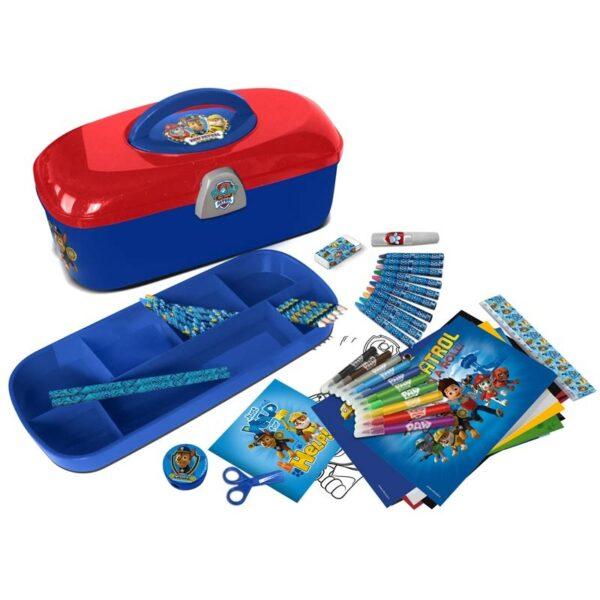 Детска кутия за принадлежности, PAW PATROL - Ученически пособия - Комплекти за рисуване - За детето - PAW Patrol