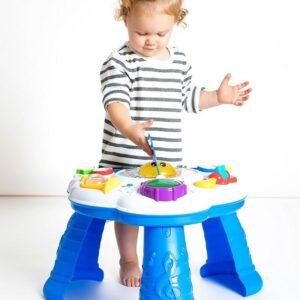 Детска маса със светлини и музика, Clementoni - Детски играчки - Образователни играчки