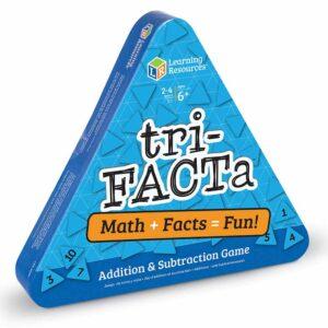 Детска математическа игра за събиране и изваждане tri-FACTa - Детски играчки
