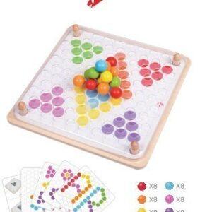 Детска мозайка, Classic World - Детски играчки - Образователни играчки - Дървени играчки