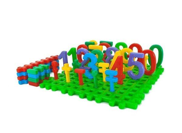 Детска образователна игра - Числата от 1 до 9 - Детски играчки - Образователни играчки