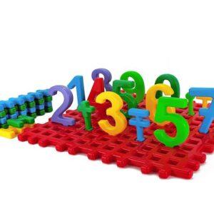 Детска образователна игра - Светът на мини числата - Детски играчки - Образователни играчки