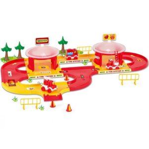 Детска писта Пожарна - Детски играчки - Детски гаражи и писти