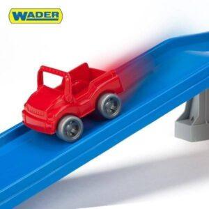 Детска писта с жп релси с влакче - Детски играчки - Детски гаражи и писти