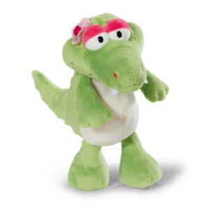 Детска плюшена играчка - Крокодила Нахла- 35 см. - Детски играчки - Плюшени играчки