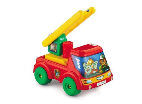 Детска пожарна кола - Детски играчки - Детски камиончета и коли
