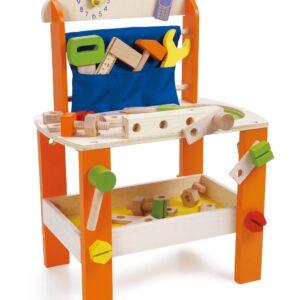 Детска работилница с инструменти - Детски играчки - Образователни играчки - Дървени играчки