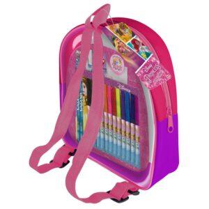 Детска раничка с комплект за рисуване, Princess - Ученически пособия - Ученически раници - За детето - Disney Princess