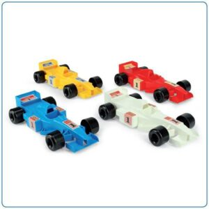 Детска състезателна количка - Детски играчки - Детски камиончета и коли