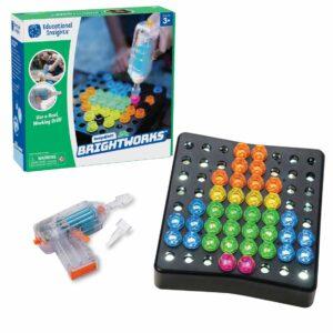 Детска светеща мозайка с винтоверт - Детски играчки - STEM Играчки