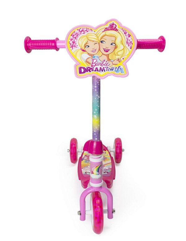 Детска триколка - тротинетка, Барби Dreamtopia - Тротинетки - Играчки за навън - Тротинетки с 3 колела за деца - Barbie