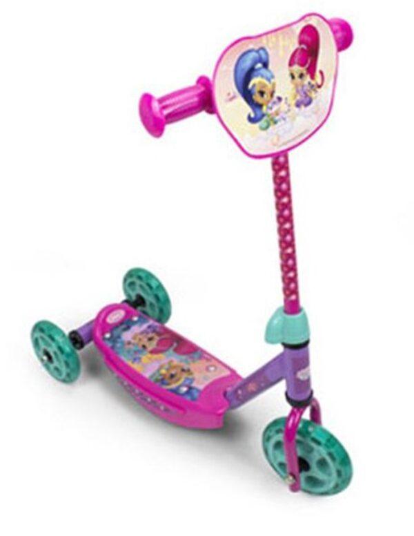 Детска тротинетка Искрица и Сияйница - Тротинетки - Играчки за навън - Тротинетки с 3 колела за деца