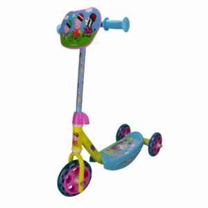Детска тротинетка с 3 гуми - Прасето Пепа - Тротинетки - Играчки за навън - Тротинетки с 3 колела за деца - Peppa Pig