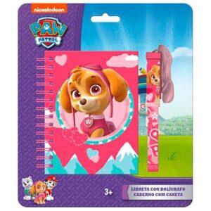 Детски бележник с химикал - Paw Patrol, Skye - Ученически пособия - Детски дневници - За детето - PAW Patrol