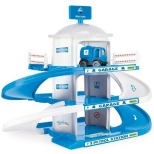 Детски Гараж на три нива - Детски играчки - Детски гаражи и писти