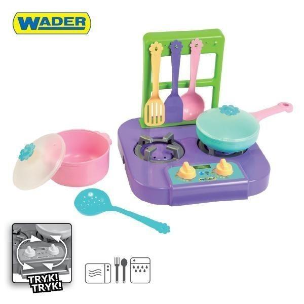 Детски газов котлон за готвене - Детски играчки - Кухни за игра - комплекти и консумативи