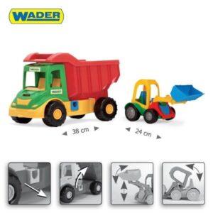 Детски камион / багер играчка - Детски играчки - Детски камиончета и коли