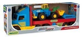 Детски Камион с платформа - Детски играчки - Детски камиончета и коли