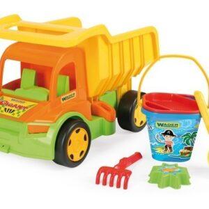 Детски камион със сет за пясък - Детски играчки - Играчки за пясък